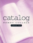 Dordt College 1995-96 Catalog by Dordt College. Registrar's Office
