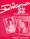 Dordt College 1986-87 Catalog by Dordt College. Registrar's Office