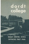 Dordt College 1967-1968 Catalog