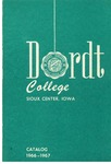 Dordt College 1966-1967 Catalog