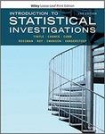 Introduction to Statistical Investigations (2nd ed.) by Nathan L. Tintle, Beth L. Chance, George W. Cobb, Allan J. Rossman, Soma Roy, Todd M. Swanson, and Jill L. Vander Stoep