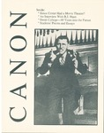 The Canon, Fall 1988