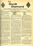 The Diamond, October 7, 1957: Volume 1, Number 1 by Dordt College