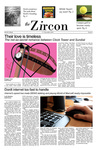 The Zircon, November 17, 2011 [Spoof Issue]