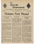 The Diamond, December 9, 1957 by Dordt College