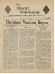 The Diamond, December 20, 1957 by Dordt College