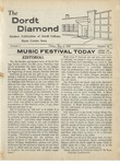 The Diamond, May 2, 1958 by Dordt College