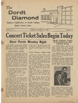 The Diamond, September 19, 1958 by Dordt College