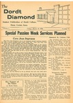 The Diamond, March 14, 1958 by Dordt College