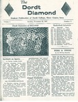 The Diamond, November 25, 1957 by Dordt College