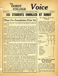 The Voice, September 1960: Volume 6, Issue 7