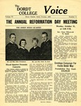 The Voice, October 1960: Volume 6, Issue 8