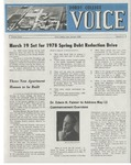 The Voice, March 1978: Volume 24, Issue 3 by Dordt College