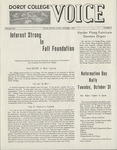 The Voice, October 1967: Volume 14, Issue 2