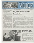 The Voice, October 1976: Volume 23, Issue 2 by Dordt College