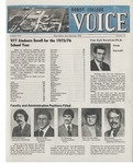 The Voice, September 1975: Volume 22, Issue 1 by Dordt College