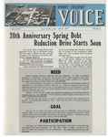 The Voice, March 1975: Volume 21, Issue 4 by Dordt College