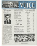 The Voice, September 1972: Volume 19, Issue 1