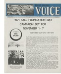 The Voice, October 1971: Volume 18, Issue 1