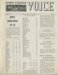 The Voice, October 1970: Volume 17, Issue 1