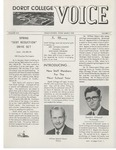 The Voice, March 1970: Volume 16, Issue 3