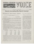 The Voice, April 1969: Volume 15, Issue 3