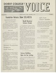The Voice, January 1967: Volume 13, Issue 1