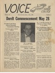 The Voice, May 1965: Volume 11, Issue 3