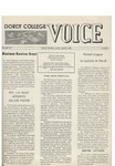 The Voice, March 1968: Volume 14, Issue 4