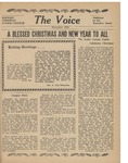 The Voice, December 1955 by Dordt College