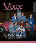 The Voice, Fall 2015: Volume 61, Issue 1 by Dordt College